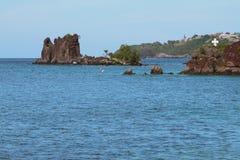 In der indischen Bucht Kingstown, Heiliges-Vicent Lizenzfreie Stockfotos