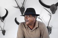 Der Inhaber eines Hotels in Sri Lanka Stockbild