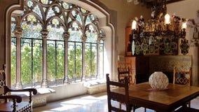 Der Innenraum der Casa Amatller in Barcelona, Catalonial, Spanien lizenzfreies stockbild