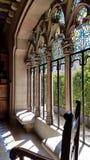 Der Innenraum der Casa Amatller in Barcelona, Catalonial, Spanien lizenzfreie stockfotos