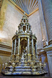 Der Innenraum der alten Kirche Lizenzfreie Stockfotos