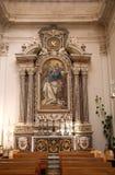 Der Innenraum der Kathedrale in Dubrovnik Lizenzfreies Stockbild