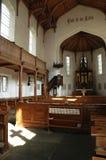 Der Innenraum der Kirche in Gosau Stockfoto