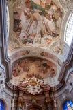 Der Innenraum der Kirche in Sternberk, Moray Lizenzfreie Stockbilder