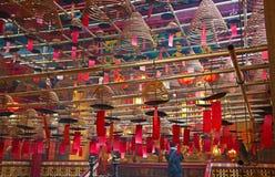 Der Innenraum des Mann-MO-Tempels Lizenzfreies Stockbild