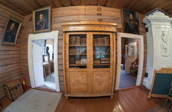 Der Innenraum des Museums Suvorov Stockbild