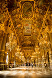 Der Innenraum des Palais Garnier Stockbild