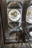 Der Innenraum des Tempels des neuen Athos Stockfotos