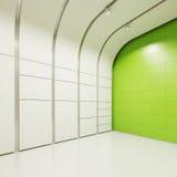 Der Innenraum eines leeren Raumes Stockfoto
