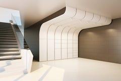Der Innenraum eines leeren Raumes Lizenzfreies Stockbild