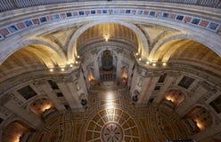 Der Innenraum Engracia-Kirche jetzt nationalen Pantheons lissabon Lizenzfreies Stockfoto