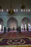 Der Innenraum der Moschee von Rissani in Marokko lizenzfreies stockfoto