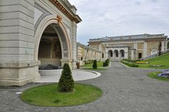 Der innere Park des Schloss-Garten-Basars Lizenzfreie Stockfotos