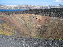 Der Inselvulkan Stockbilder