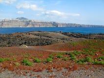 Der Inselvulkan Lizenzfreie Stockfotografie