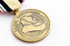 Der Irak-Kampagnen-Medaille Stockfotografie