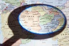 Der Iran, Afghanistan und Pakistan stockfotografie