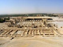 Der Iran: Ansicht der alten Stadt Persepolis Stockfotos