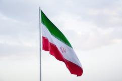 Der Iran-Markierungsfahne Stockbilder