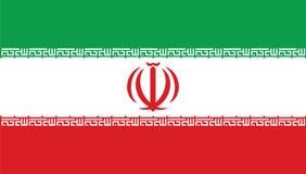Der Iran-Staatsflagge lizenzfreie abbildung