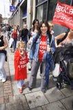 Der jährliche Bristol-homosexuelle Stolz 2011 Lizenzfreie Stockfotografie