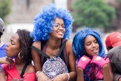 Der jährliche Karneval in Kap-Verde lizenzfreie stockfotos
