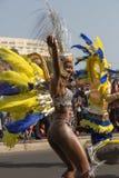 Der jährliche Karneval im Kapital in Kap-Verde, Praia. Stockfotos