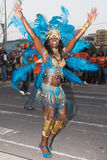 Der jährliche Karneval in der Hauptstadt in Kap-Verde, Praia. Lizenzfreie Stockfotos