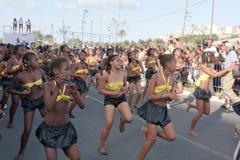 Der jährliche Karneval in Kap-Verde 2011 stockfotografie