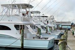 Der Jachthafen Stockfotografie