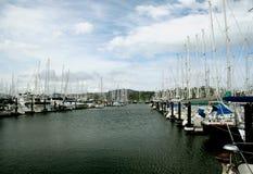 Der Jachthafen Lizenzfreie Stockfotos
