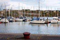 Der Jachthafen. Kinsale, Irland Lizenzfreies Stockbild