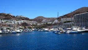 Der Jachthafen in Puerto Rico Lizenzfreie Stockfotografie