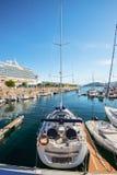 Der Jachthafen in Vigo, Spanien