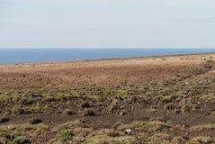 Der Jandia-Naturpark auf Fuerteventura in Spanien Stockbilder