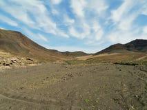 Der Jandia-Naturpark auf Fuerteventura in Spanien Lizenzfreie Stockfotografie