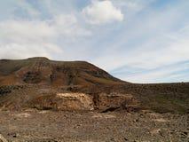 Der Jandia-Naturpark auf Fuerteventura in Spanien Lizenzfreie Stockbilder
