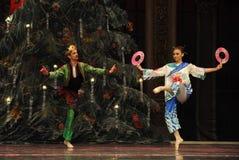 Der japanische Abgesandte das zweite der Tat Feld-Süßigkeit Königreich an zweiter Stelle - der Ballett-Nussknacker Lizenzfreie Stockfotos