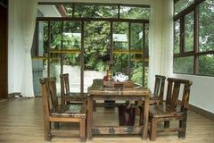 Der japanische Garten in den japanischen Gärten u Lizenzfreie Stockfotos