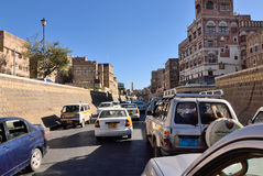 Der Jemen, Sanaa Lizenzfreies Stockfoto