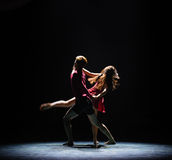 Der jeweilige Touhuan-moderne Tanz Stockfotos