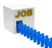 Der Job Stockbilder