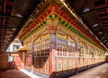 Der Jokhang Tempel stockbild