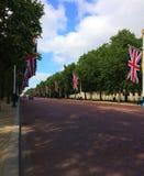 Der Jubiläum-Gehweg in London, Großbritannien stockfotos