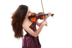 Der Jugendliche der Musiker Lizenzfreie Stockfotografie
