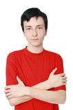 Der Jugendliche von 17 Jahren Stockbild