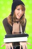 Der junge Kursteilnehmer Lizenzfreie Stockbilder