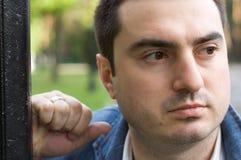 Der junge Mann. Ein Portrait. Stockfotos