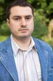 Der junge Mann. Ein Portrait. Lizenzfreie Stockbilder