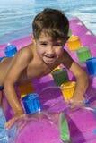 Der junge Schwimmer Lizenzfreie Stockbilder